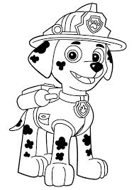 coloriage et dessins pat patrouille ou paw patrol