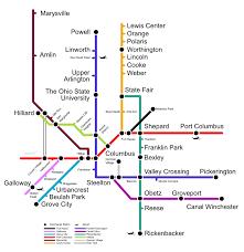 Light Rail Map Minneapolis Potential Columbus Light Rail Map Xing Columbus
