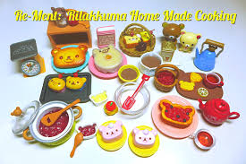 kitchen collectables re ment collection 8 rilakkuma home made cooking youtube