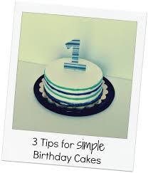 first birthday cake ideas easy