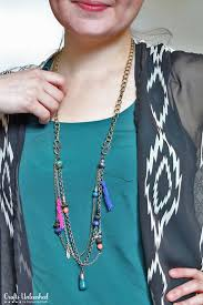 necklace boho images Layered necklace diy boho style crafts unleashed jpg