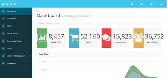 template dashboard free best free html5 admin dashboard templates