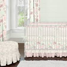 5 In 1 Convertible Crib by Nursery Beddings Pink And Gold Crib Bedding As Well As Blush Pink
