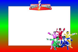 power rangers free printable invitations parties