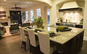 Open Floor Kitchen Designs Kitchen Open Kitchen Living Room Designs Plan For Small Kitchens