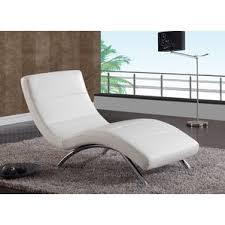 Leather Chaise Lounge Sofa White Chaise Lounge Chairs You U0027ll Love Wayfair
