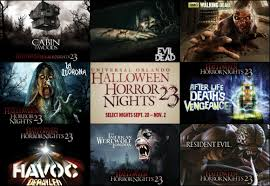 halloween horror nights calendar here it is the full haunted house lineup for halloween horror