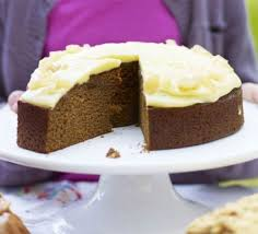 ginger cake with caramel frosting recipe bbc good food