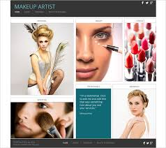 professional makeup artists websites 30 best free beauty templates and themes