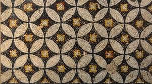 ancient mosaic fragments in the sea atalanti greece helen