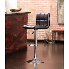 Home Decorators Collectio by Home Decorators Collection Adjustable Height Black Swivel