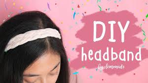 bando headbands diy headband cara membuat bando