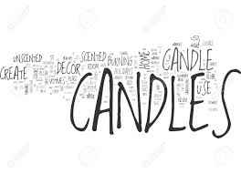 beautify and add fragrance to your home decor with candles text