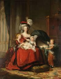 robe de mã re de mariã e file louise elisabeth vigée lebrun antoinette de lorraine