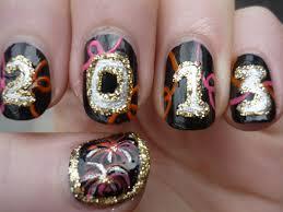 new years nail art tutorial youtube