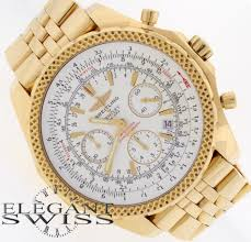 breitling bentley motors breitling bentley motors special edition yellow gold chrono mens