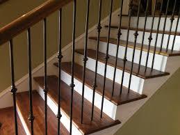 custom stairs red leaf hardwood
