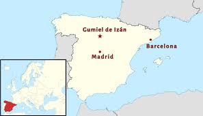 Map Of Madrid Spain by Unburying The Spanish Civil War