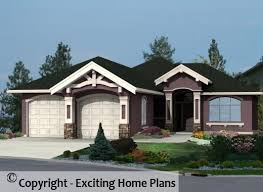 bungalow home modern house garage dream cottage blueprints by exciting home plans