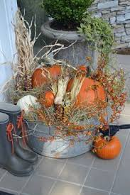 Fall Harvest Outdoor Decorating Ideas - halloween diy projects quick and easy decor fall pumpkins