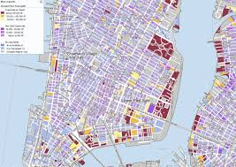map of nyc areas zoom in which nyc areas development rights