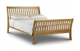 Oak Bed Frame Julian Bowen Leona 4ft6 Oak Bed Frame By Julian Bowen