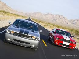 dodge challenger vs ford mustang dodge challenger srt8 2008 vs ford mustang shelby gt500 2008 id