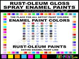 glossy spray paint enamel spray paint colors rust oleum spray