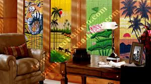 Painted Bamboo Curtains Where To Buy Painted Bamboo Beaded Curtains