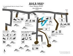 Arizona Time Zone Map by Arizona Hiking Vacations U0026 Free Hike Trail Maps Greer Lodge