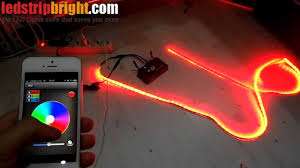 led strip lights wifi controller iphone ipad android wifi led rgb wireless flexible light strip