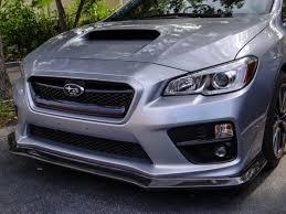 legacy subaru 2015 subaru wrx sti carbon fiber front splitter