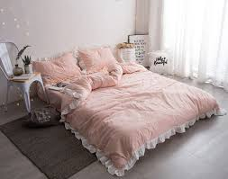 Girls Striped Bedding by Online Buy Wholesale White And Pink Stripe Bedding From China