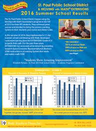 customer spotlight u2013 st paul public schools summer math has