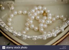 pearl necklace jewelry box images Jewelry box stock photos jewelry box stock images alamy jpg