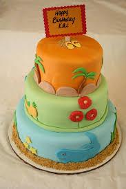 Luau Cake Decorations Sweet U0026 Sassy Cakes Luau Cake And