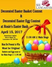 Easter Basket Decorating Contest by Rosie U0027s Easter Bash Lancaster South Carolina