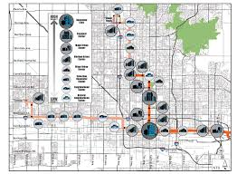 Downtown Phoenix Map by Phoenix Considers 500k Predevelopment Transit Orientated
