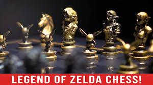 the most luxurious zelda product on earth zelda chess youtube