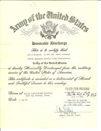 honorable discharge certificate documents honorable discharge certificate us army for dan p