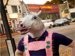 halloween mask masquerade for fashion unicorn mask horse