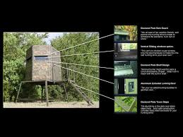 How To Make Sliding Windows For Deer Blind Hunting Blinds Built To Last And Designed To Your Needs Boss Game