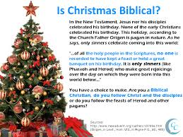 does the bible mention calling christians