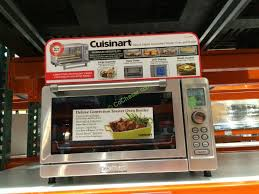 Convection Toaster Oven Costco Cuisinart Deluxe Convection Toaster Oven Broiler Model Tob 135n