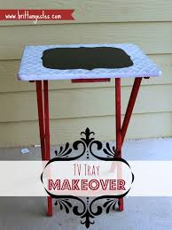 Tv Tray Table Tv Tray Table Makeover Tutorial Brittany Estes