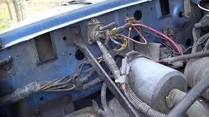 1993 ford ranger starter blue f 150 battery cable replacement