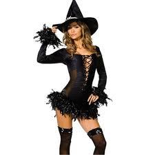 Srxy Halloween Costumes 2017 2017 Black Witch Costume Fashion Fancy Dress