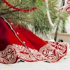 christmas tree skirts designer christmas tree skirts foter