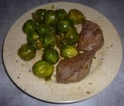 cuisiner coeur de boeuf recette paléo cœur de bœuf aux choux de bruxelles