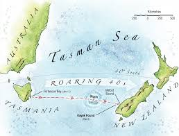 Kayak Map Andrew Mcauley Lost At Sea Adventure Kayak Magazine Rapid Media